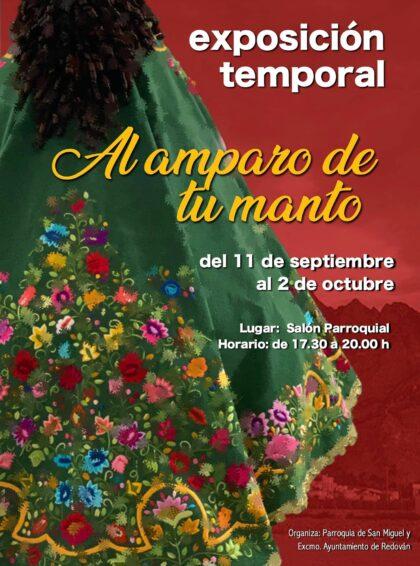 Redován, evento cultural: Exposición temporal 'Al amparo de tu manto', dentro de las fiestas patronales en honor a la Virgen de la Salud y San Miguel